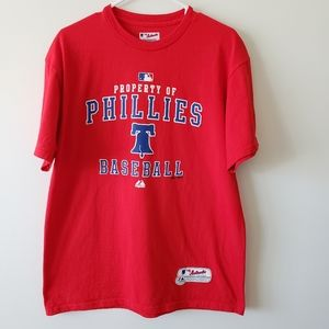 Authentic Majestic Phillies Baseball Tee